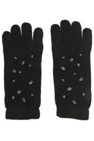 Перчатки Elisabeth. Цвет: черный