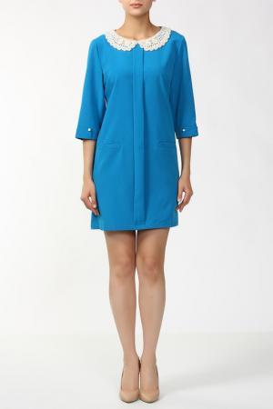 Платье Анора. Цвет: голубой