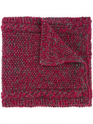 Шарф Antonina Tussey 711. Цвет: красный