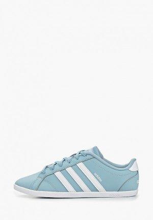 Кеды adidas. Цвет: голубой