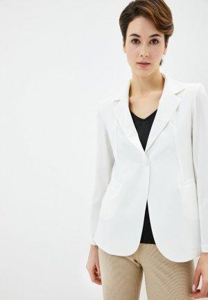 Пиджак Massimiliano Bini. Цвет: белый