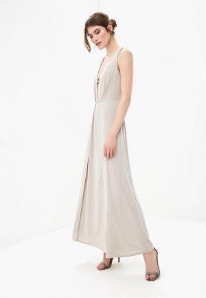 Платье Rinascimento. Цвет: бежевый