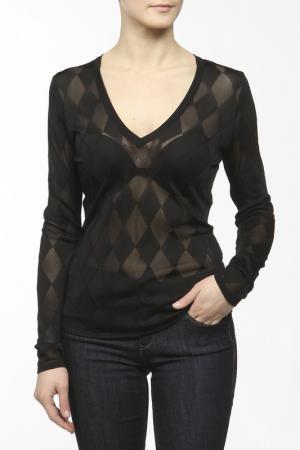 Пуловер Balmain. Цвет: черный