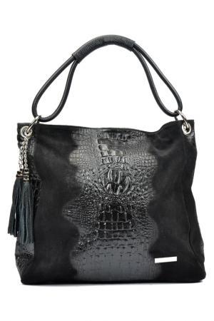 Bag LUISA VANNINI. Цвет: black