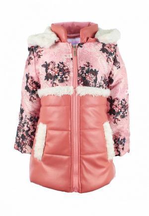 Куртка утепленная Irby Style. Цвет: розовый