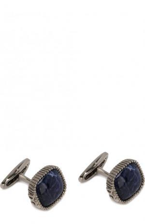 Запонки Dolce & Gabbana. Цвет: серебряный