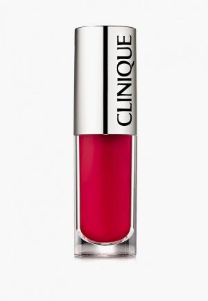 Блеск для губ Clinique. Цвет: бордовый