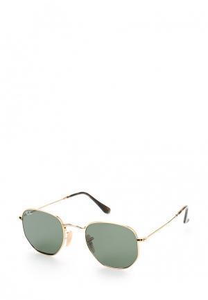 Очки солнцезащитные Ray-Ban®. Цвет: золотой