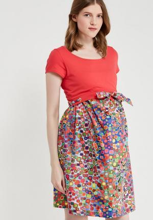 Платье BuduMamoy. Цвет: разноцветный