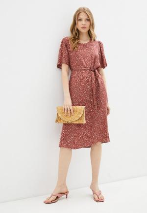 Платье Jacqueline de Yong. Цвет: красный