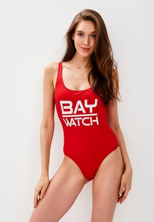 Купальник MC2 Saint Barth. Цвет: красный