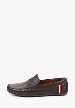 Мокасины Tommy Jeans. Цвет: коричневый