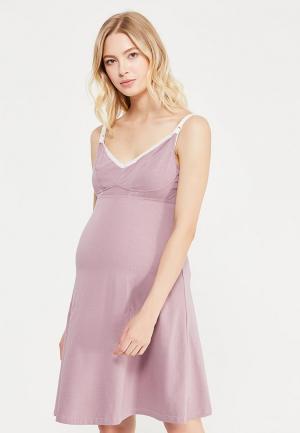 Сорочка ночная Мамин дом. Цвет: розовый