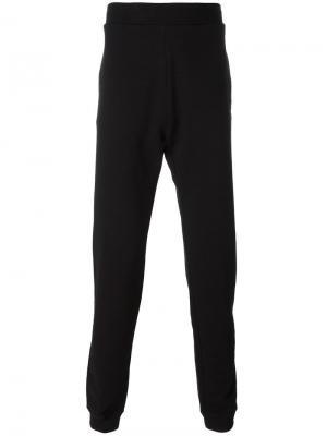 Классические спортивные брюки Maison Margiela. Цвет: чёрный