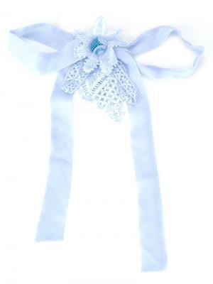 Embellished brooch Martha Medeiros. Цвет: синий
