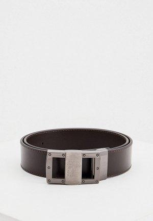 Ремень Versace Collection. Цвет: коричневый