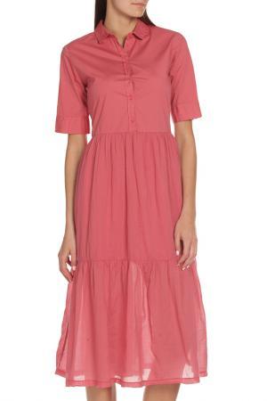 Платье EUROPEAN CULTURE. Цвет: темный коралл