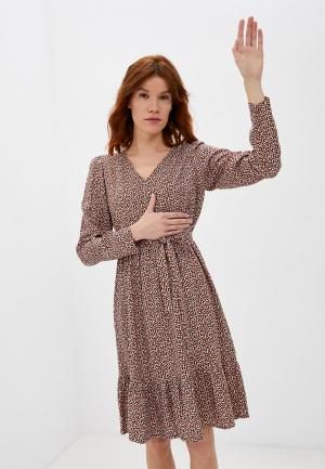 Платье Mamalicious. Цвет: разноцветный