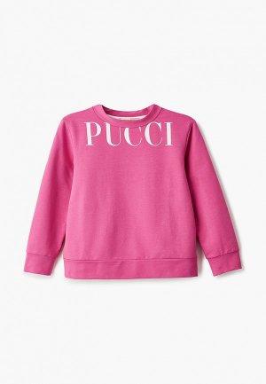 Свитшот Emilio Pucci. Цвет: розовый