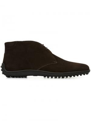 Ботинки-дезерты Car Shoe. Цвет: коричневый