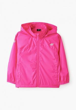 Ветровка 4F. Цвет: розовый