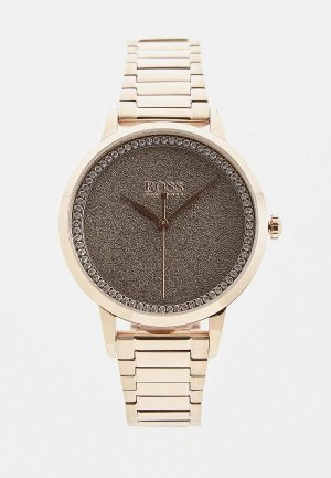 Часы Boss. Цвет: серебряный