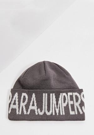 Шапка Parajumpers. Цвет: серый
