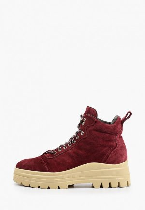 Ботинки Fratelli Rossetti One. Цвет: бордовый