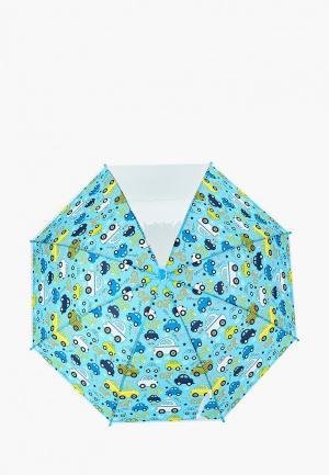 Зонт-трость Modis. Цвет: голубой