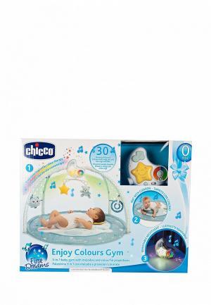 Коврик детский Chicco. Цвет: голубой