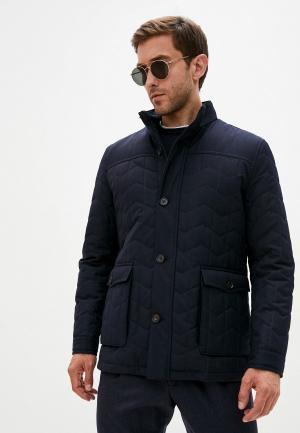 Куртка утепленная Corneliani. Цвет: синий