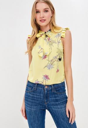 Блуза Motivi. Цвет: желтый
