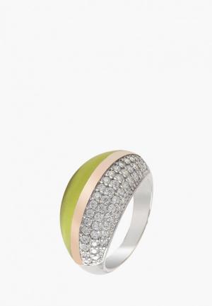 Кольцо Merelani. Цвет: разноцветный