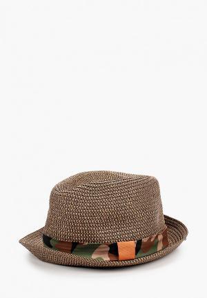 Шляпа United Colors of Benetton. Цвет: коричневый