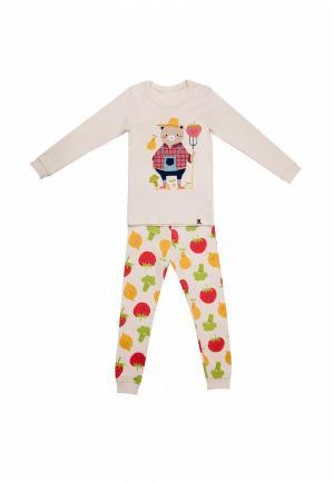 Пижама Tokki. Цвет: бежевый