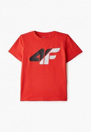 Футболка 4F. Цвет: красный