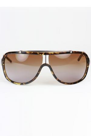 Очки солнцезащитные FILA. Цвет: коричневый