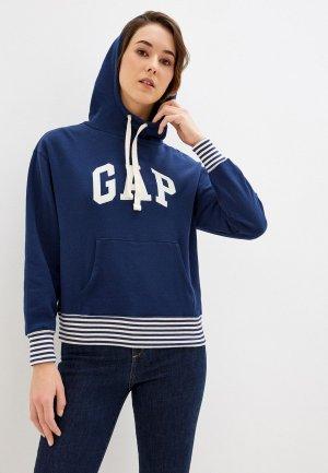 Худи Gap. Цвет: синий