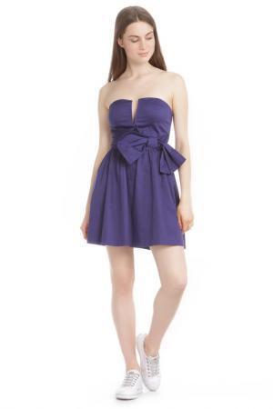 Платье TRAC. Цвет: royal blue