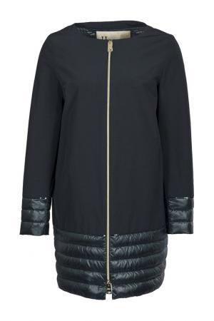 Куртка HERNO. Цвет: синий