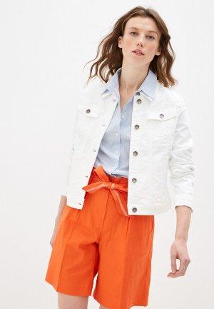 Куртка джинсовая Taifun. Цвет: белый