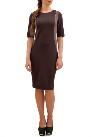 Платье Doctor E. Цвет: коричневый