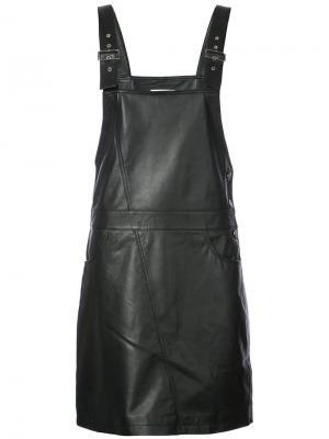 Платье Coba Just Female. Цвет: чёрный