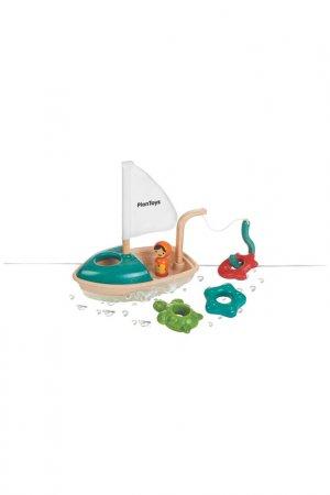 Лодка Plan Toys. Цвет: мультицвет