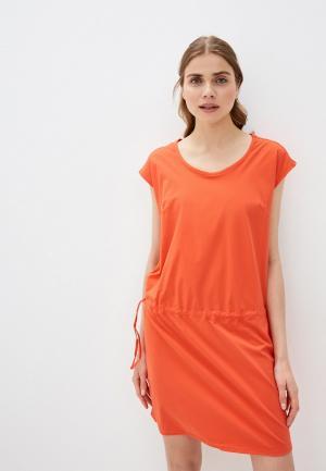 Платье Columbia. Цвет: оранжевый
