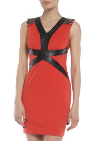 Платье b2. Цвет: оранжевый