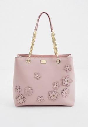 Сумка Blumarine. Цвет: розовый
