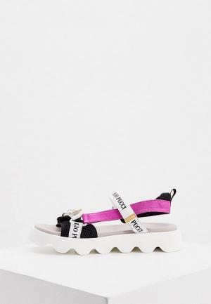 Сандалии Emilio Pucci. Цвет: разноцветный