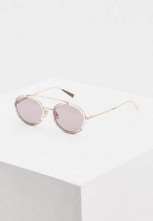 Очки солнцезащитные Max Mara. Цвет: серый