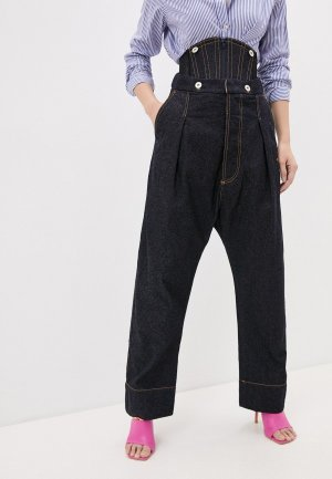 Джинсы Vivienne Westwood. Цвет: синий